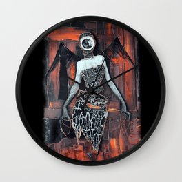 Angel eye Wall Clock
