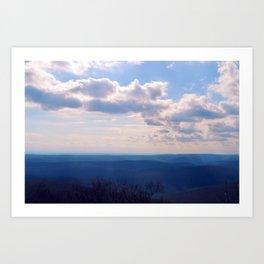 Ozark Views Art Print