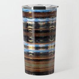 Reflective Plaid Travel Mug