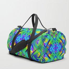Colorful digital art splashing G476 Duffle Bag