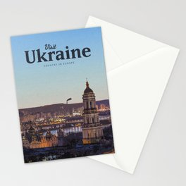 Visit Ukraine Stationery Cards