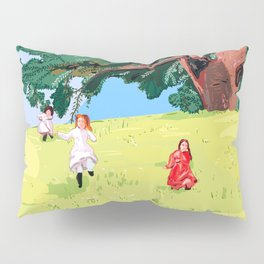 The little house on the prairie with Ingalls sisters Pillow Sham
