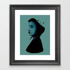 Night Girl Framed Art Print