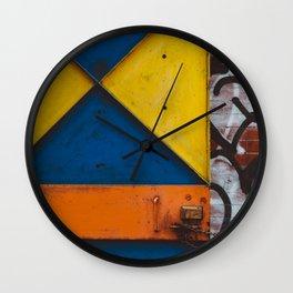 East Village IV Wall Clock