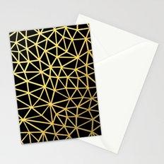 Broken Gold Stationery Cards