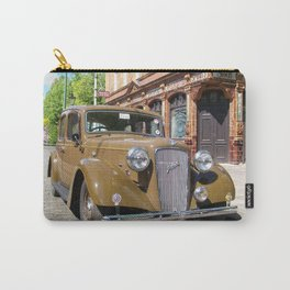 Vintage car and English Pub Carry-All Pouch