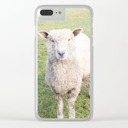 Ba Ba Not a Black Sheep Clear iPhone Case