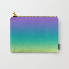 Northern lights #Ombre #gradient Carry-All Pouch