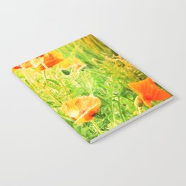 SPRING POPPIES Notebook