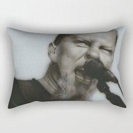 'Blackened' Rectangular Pillow