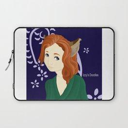 Kitsune Girl Laptop Sleeve