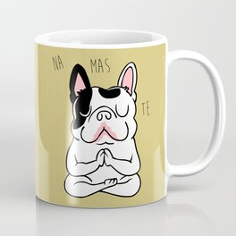 Namaste French Bulldog Coffee Mug