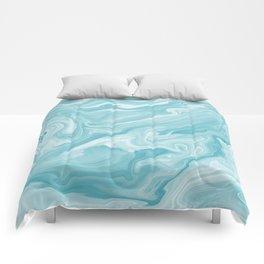 Liquid Marble Comforters