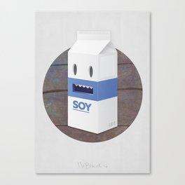Soy Milk Canvas Print