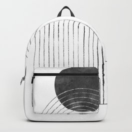 Arch and black sun Backpack