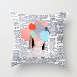le figaro Throw Pillow