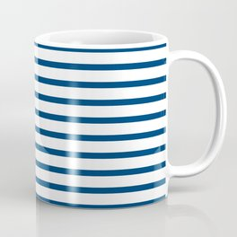 Sailor Stripes Navy & White Coffee Mug