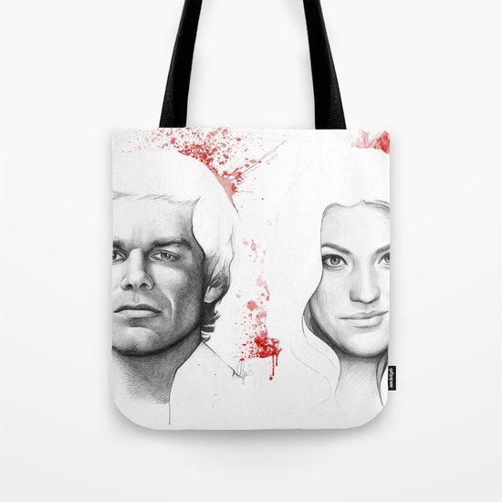 Dexter and Debra Tote Bag
