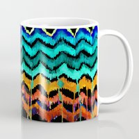 african Mugs featuring African Essence by Holly Sharpe