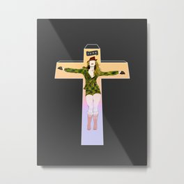 F U N K (is my cult) Metal Print