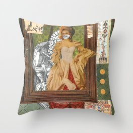 Poison Mistress Throw Pillow