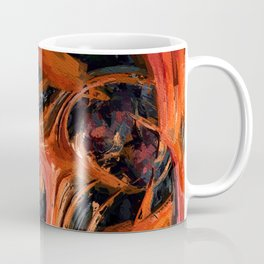 A World Within. Abstract Art by Tito Coffee Mug