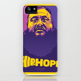 Mr.Action ( HIP-HOPE Series ) iPhone Case