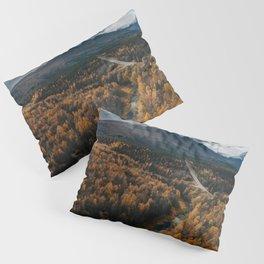 Arctic Autumn - Landscape and Nature Photography Pillow Sham