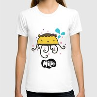 musa T-shirts featuring Lusa Musa© of MILK FACTORY ® by Mimi Guarnero