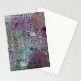Abstract Confession Stationery Cards