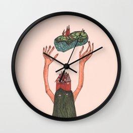 Cousin Itt Wall Clock