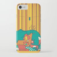 music iPhone & iPod Cases featuring MUSIC by Ale Giorgini