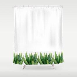 Aloe Vera. Shower Curtain