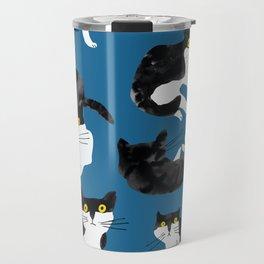 cat study Travel Mug