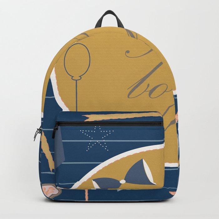 Baby Shower Backpack