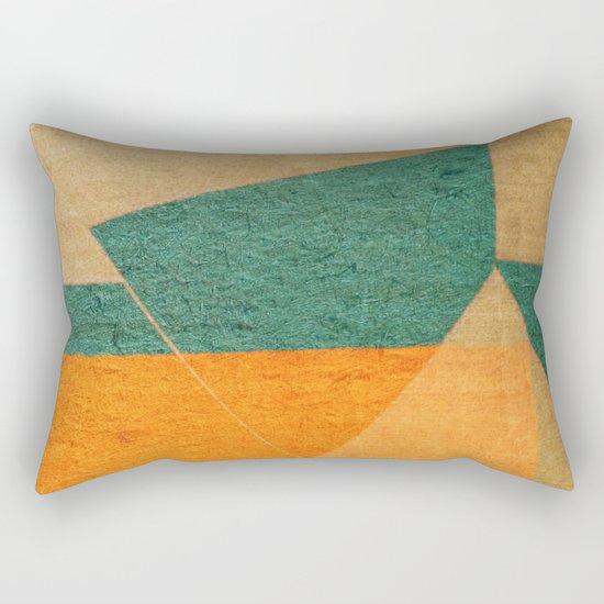 A Água e o Minério (The Water and the Ore) Rectangular Pillow