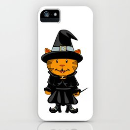 Witch Kitty iPhone Case