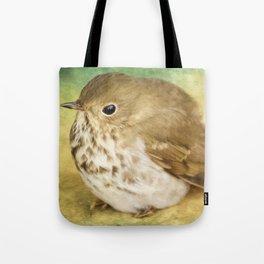 Bird Art - Patiently Waiting Tote Bag