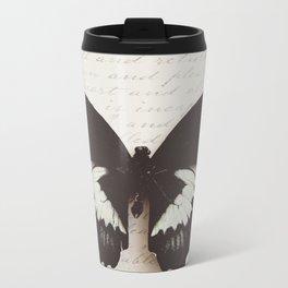 Papilio Aegus Butterfly Metal Travel Mug