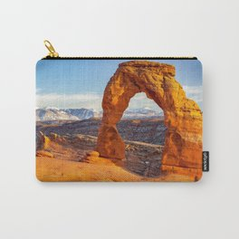 DELICATE ARCH SUNSET ARCHES NATIONAL PARK MOAB UTAH Carry-All Pouch