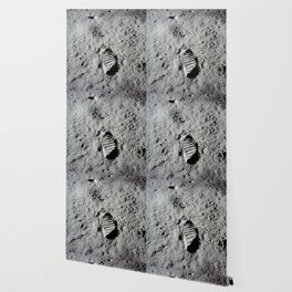 Apollo 11 - First Footprint On The Moon Wallpaper