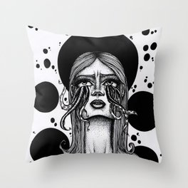No Tears Throw Pillow