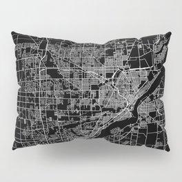 Toledo map ohio Pillow Sham