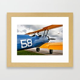Stearman PT-17 Framed Art Print