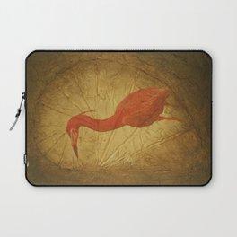 Red Heron Laptop Sleeve