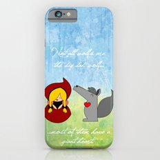 Little Red Riding Hood & Lovely Wolf ♥ iPhone 6s Slim Case