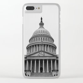 US Capitol In Washington DC Clear iPhone Case