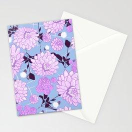 Soft calming lilac spring florals design Stationery Cards