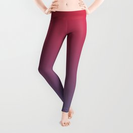 PATRIOTS NIGHT - Minimal Plain Soft Mood Color Blend Prints Leggings