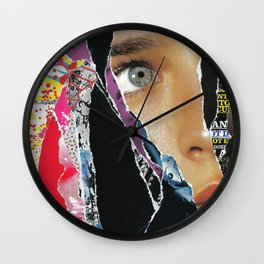 Retro Actively Wall Clock